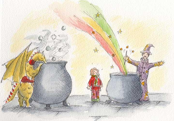 Cauldron-Rainbow