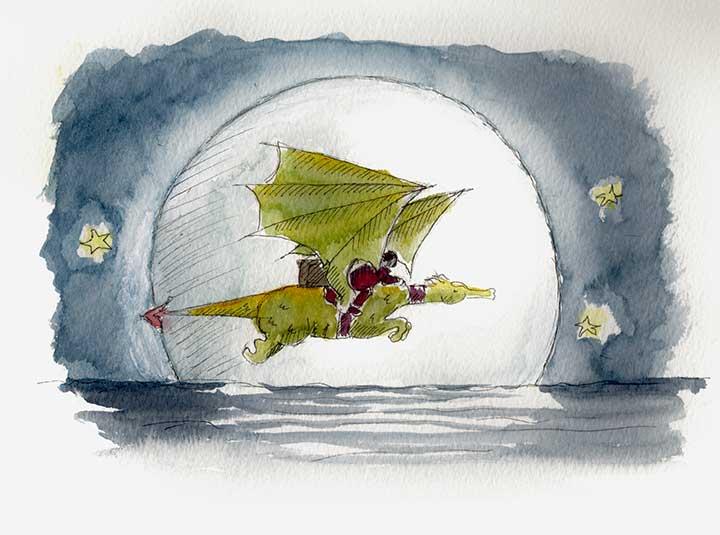 Dragon-Moon