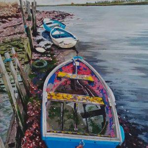 Kent seascape painting