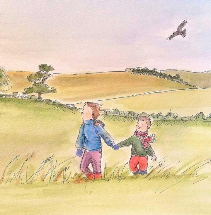 children-field-illustration